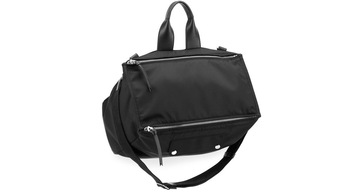 9c662b5970b Givenchy Men's Pandora Canvas Crossbody Bag in Black for Men - Lyst