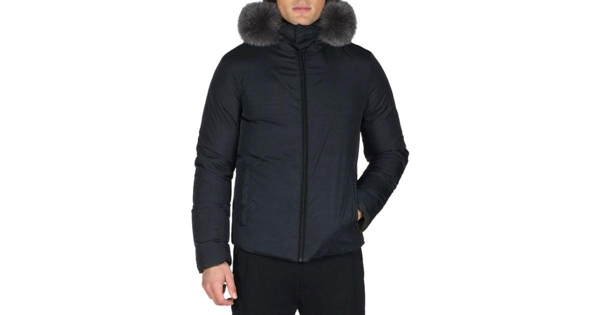 Lyst - Fendi Reversible Monster Down Ski Jacket With Fur Trim for Men d13af93fd