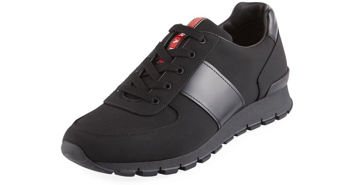mens black prada runners, OFF 78