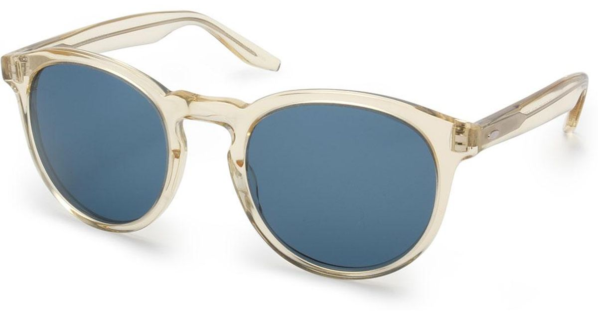 4dce024f6a Lyst - Barton Perreira Goodman Acetate Sunglasses in Metallic