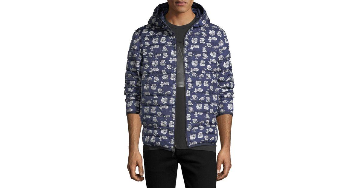f5ddf69fb Lyst - Moncler Oise Jacket in Blue for Men - Save 51%