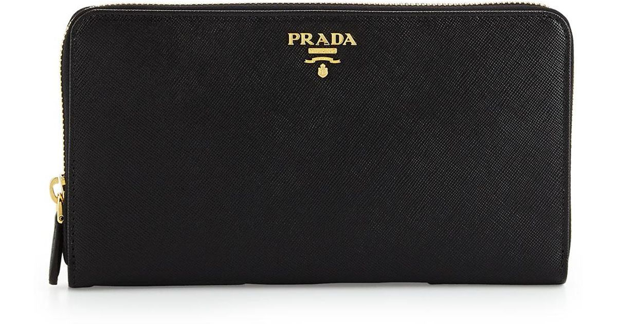 dd86b2ead448 authentic prada saffiano zip around travel wallet reebonz united arab  emirates b465e 4cd65; free shipping lyst prada textured leather travel  wallet in black ...