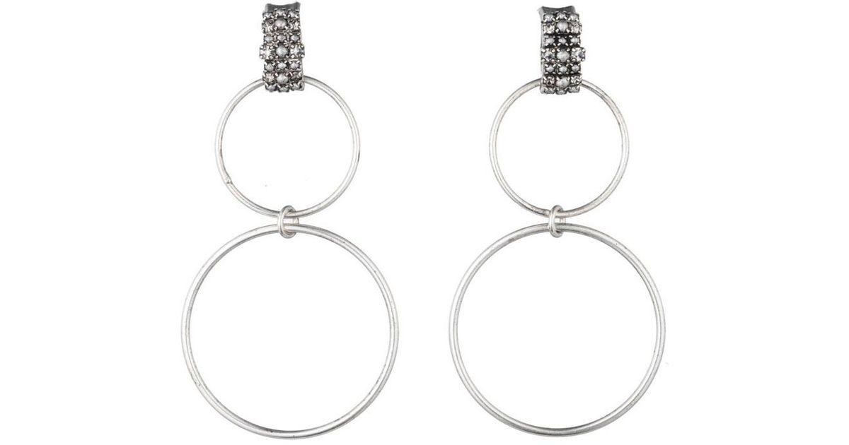 Dannijo Dido Circle Statement Earrings z8xu4eW