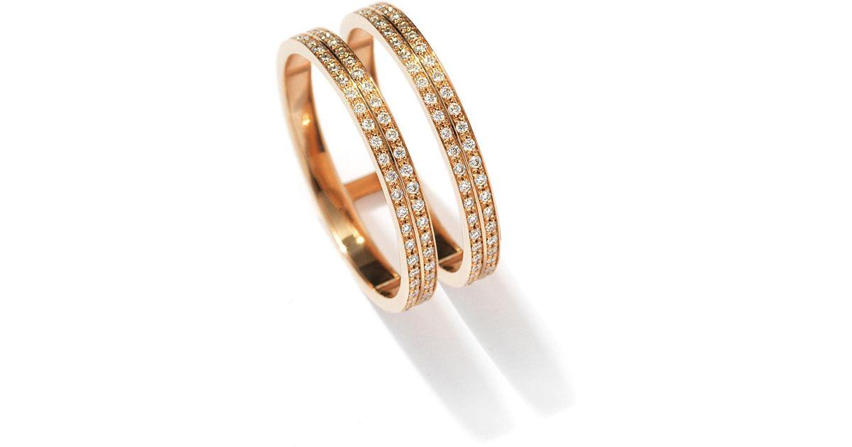 Repossi Berbère Technical Ring in 18K Rose Gold 49DxVPb