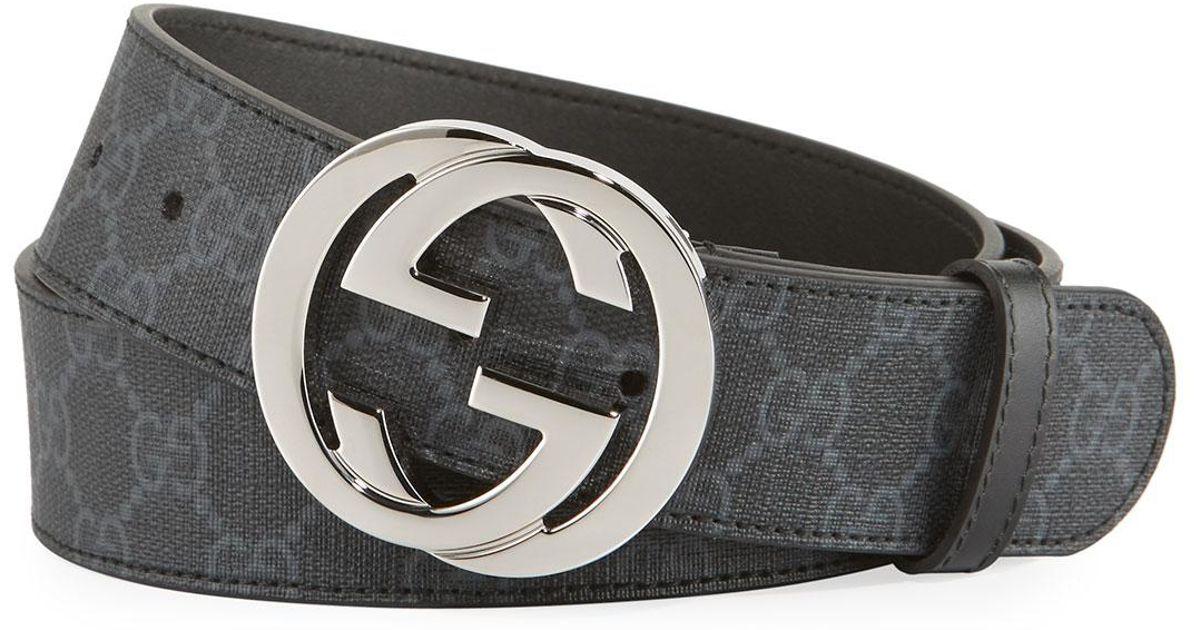 73c08e86225 All Black Gucci Belt - Image Of Belt
