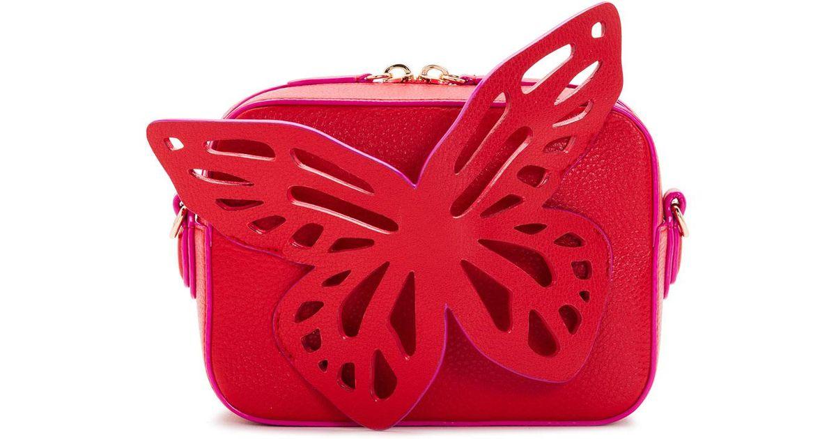 Sophia Cuir Webster Flossy Sac Photo Papillon De Nombreux Types De Ligne Pas Cher De Nombreux Types De 7v8SUkj