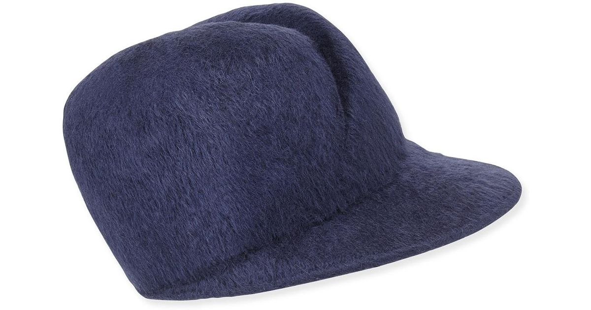 Lyst - Gigi Burris Millinery Esther Felted Cap in Blue a95726bef9a4