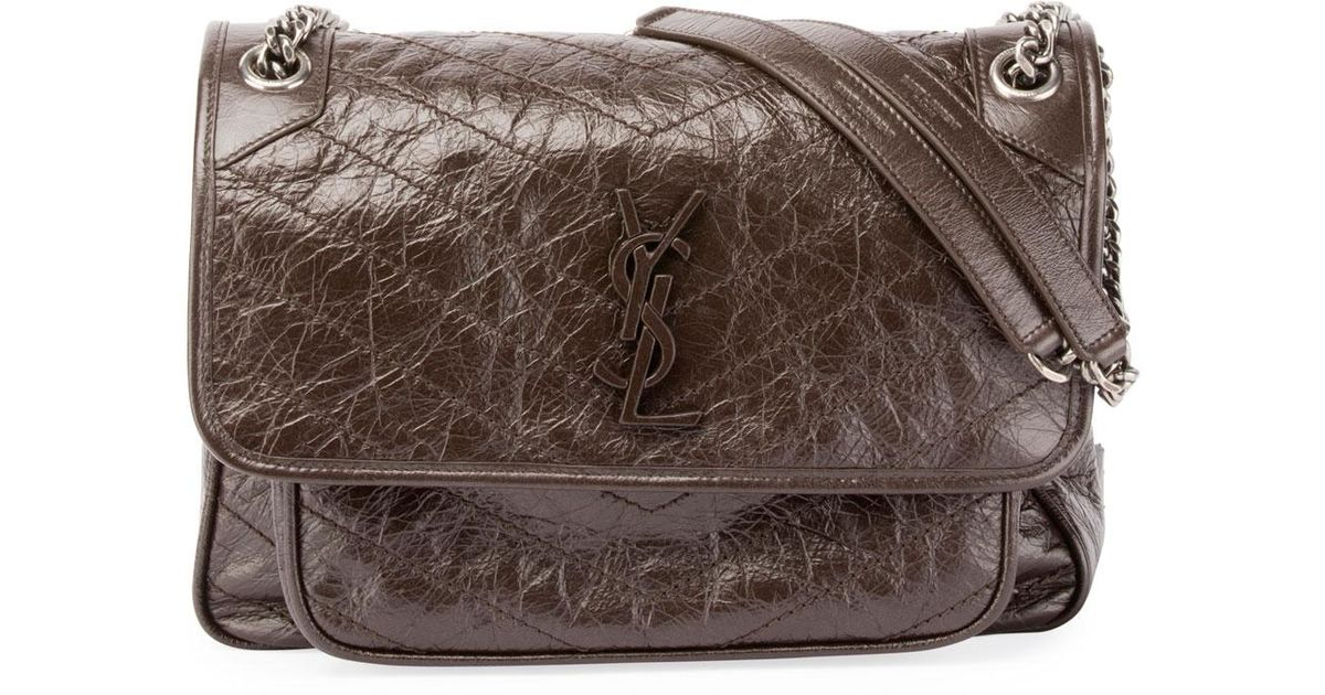 d7c357883d04 ... Lyst - Saint Laurent Monogram Ysl Niki Medium Shoulder Bag i los  angeles b4ed1 bd4d0 ...