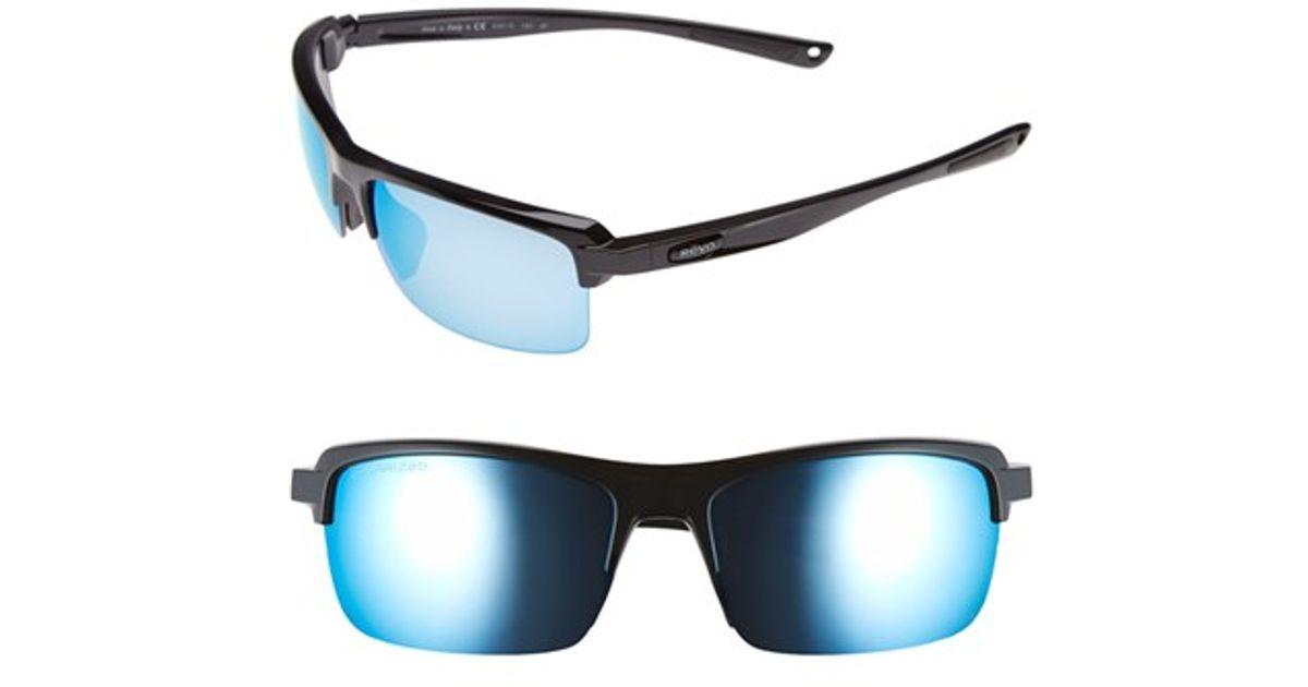 ecbd3578fe Lyst - Revo  crux N  62mm Polarized Sunglasses in Blue for Men