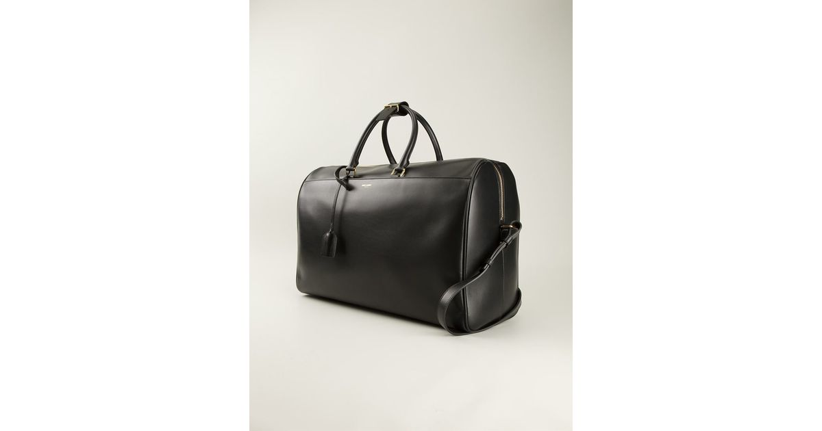 13f0bf499598 Lyst - Saint Laurent  Classic Duffle 24  Holdall in Black for Men