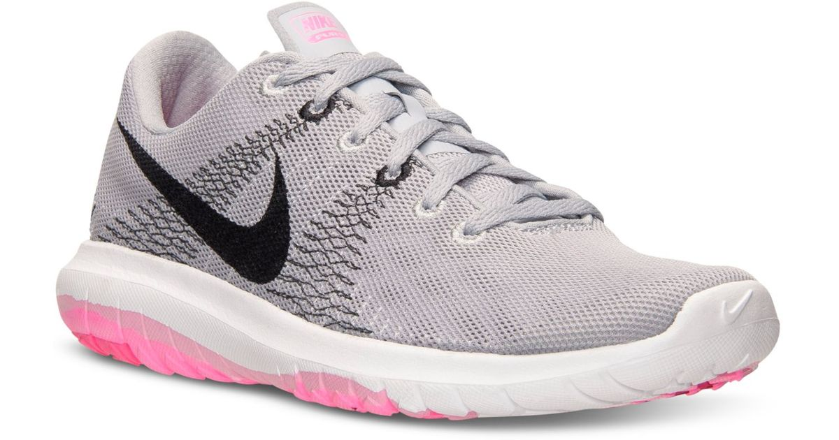 8127e0553c5ef ... france lyst nike womens flex fury running sneakers from finish line in  gray 02d64 0fad9