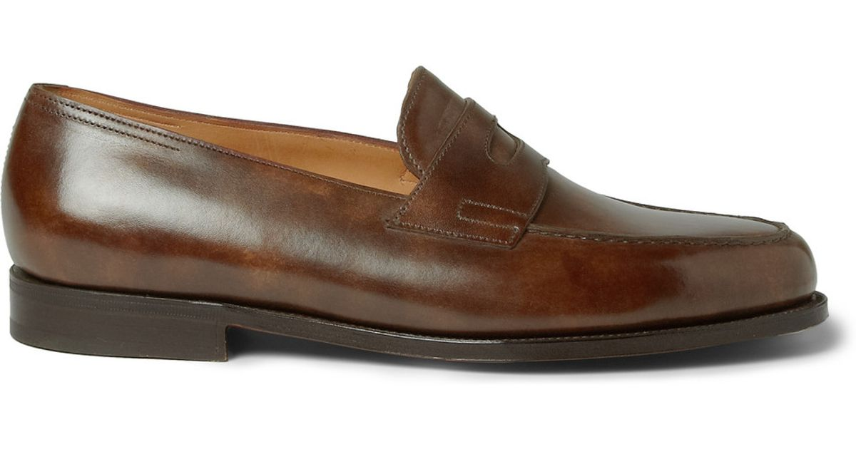 Amble leather loafers John Lobb UcsFW