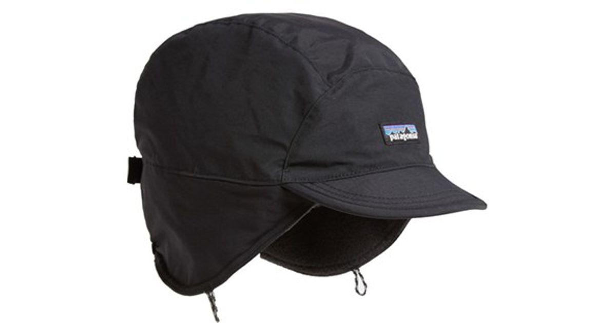 f05eebe1b22ea Patagonia Synchilla Duckbill Cap in Black for Men - Lyst