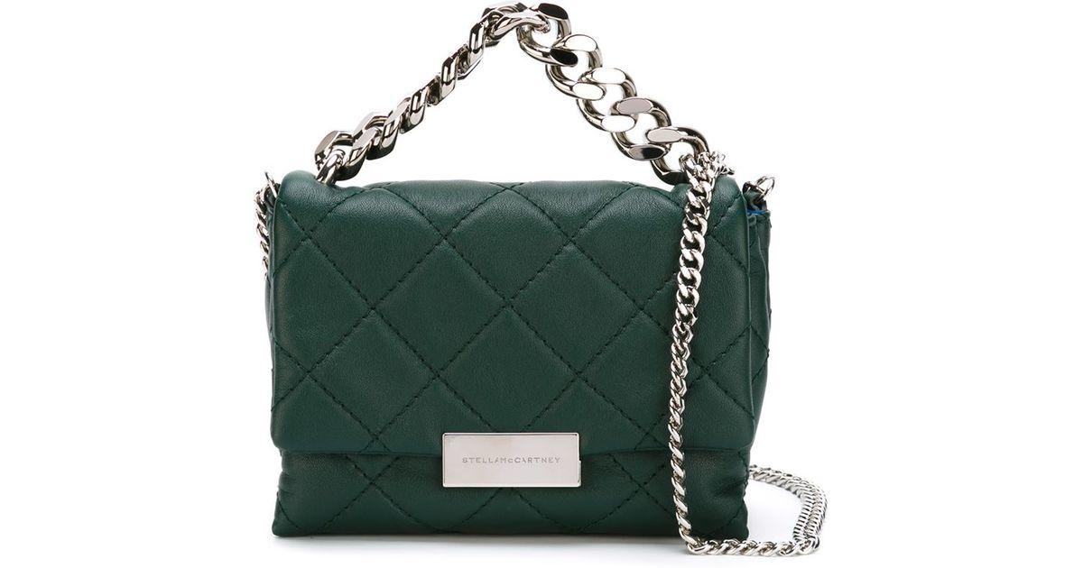 527a45e026f8 Lyst - Stella McCartney Small  beckett  Shoulder Bag in Green