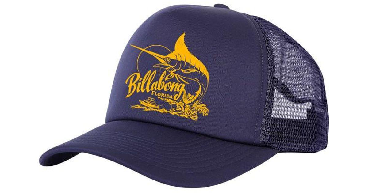 quality design c7631 7ee81 ... snapback snap back black new tag ccbee netherlands lyst billabong ole  blue florida trucker hat in blue for men 0e447 ca559 ...