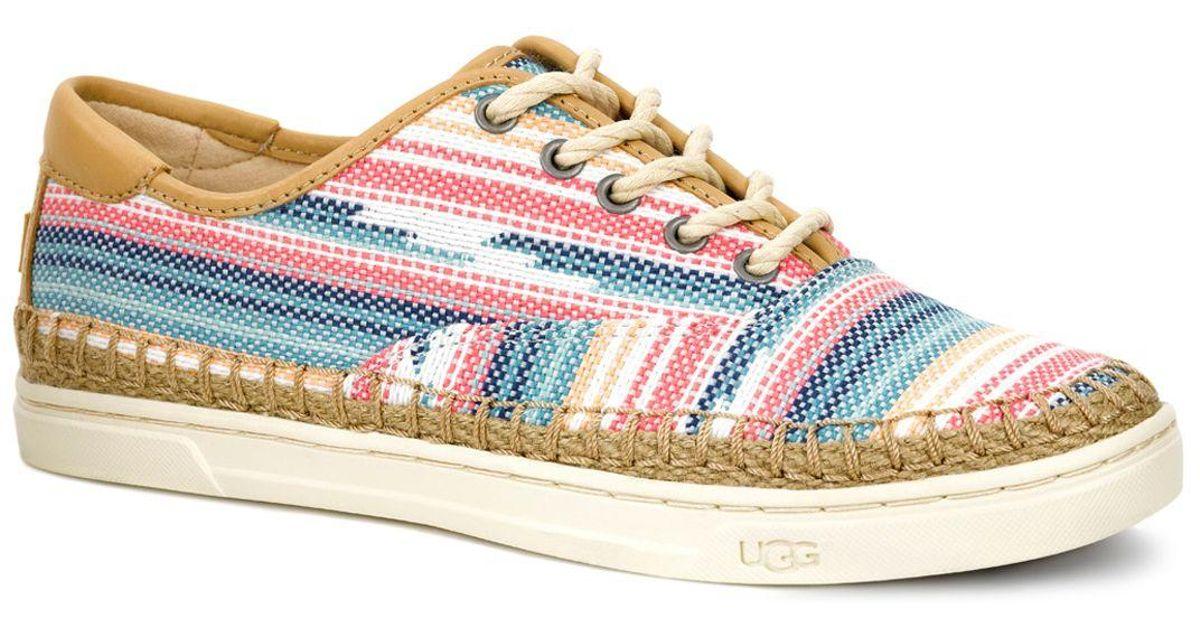 7db5fd218c3 UGG - Multicolor Eyan Ii Serape Sneakers - Lyst