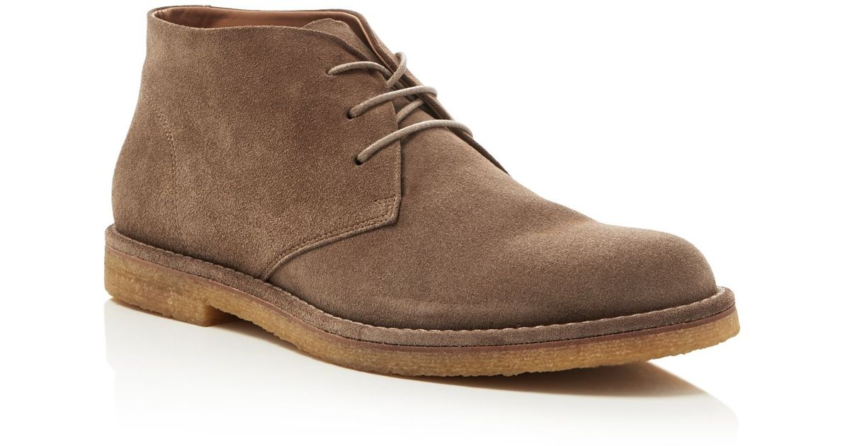 Vince Scott Chukka Boots In Brown For Men Lyst