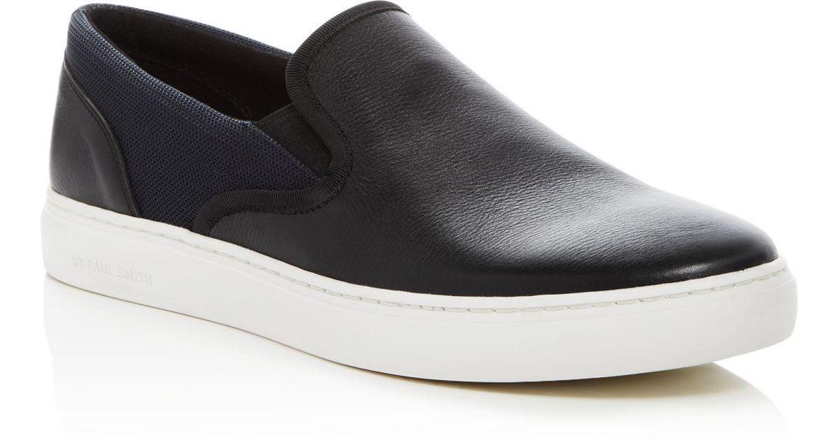 Lyst - Paul Smith Harzel Slip On Sneakers in Black for Men 956bbdf1eeef