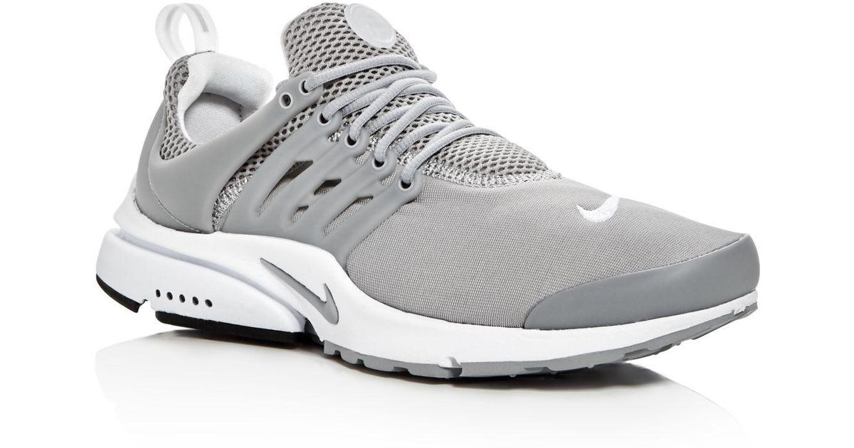 a498b5421428 Lyst - Nike Men s Air Presto Essential Lace Up Sneakers in Gray for Men