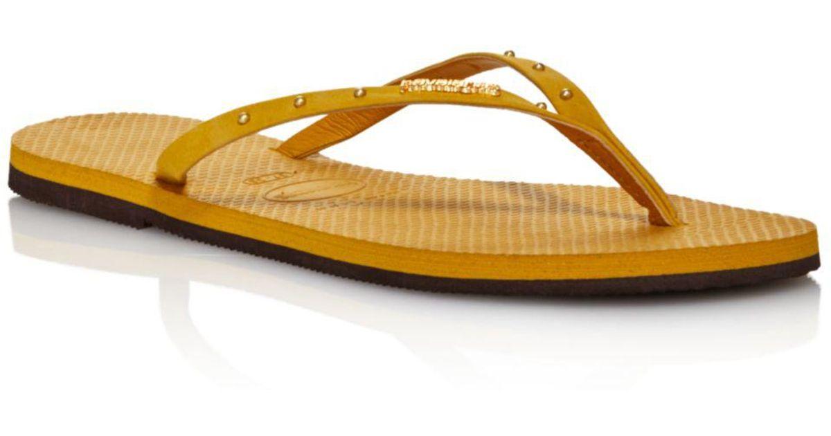 9d25278a3e3 Lyst - Havaianas Women s You Maxi Flip-flops in Yellow