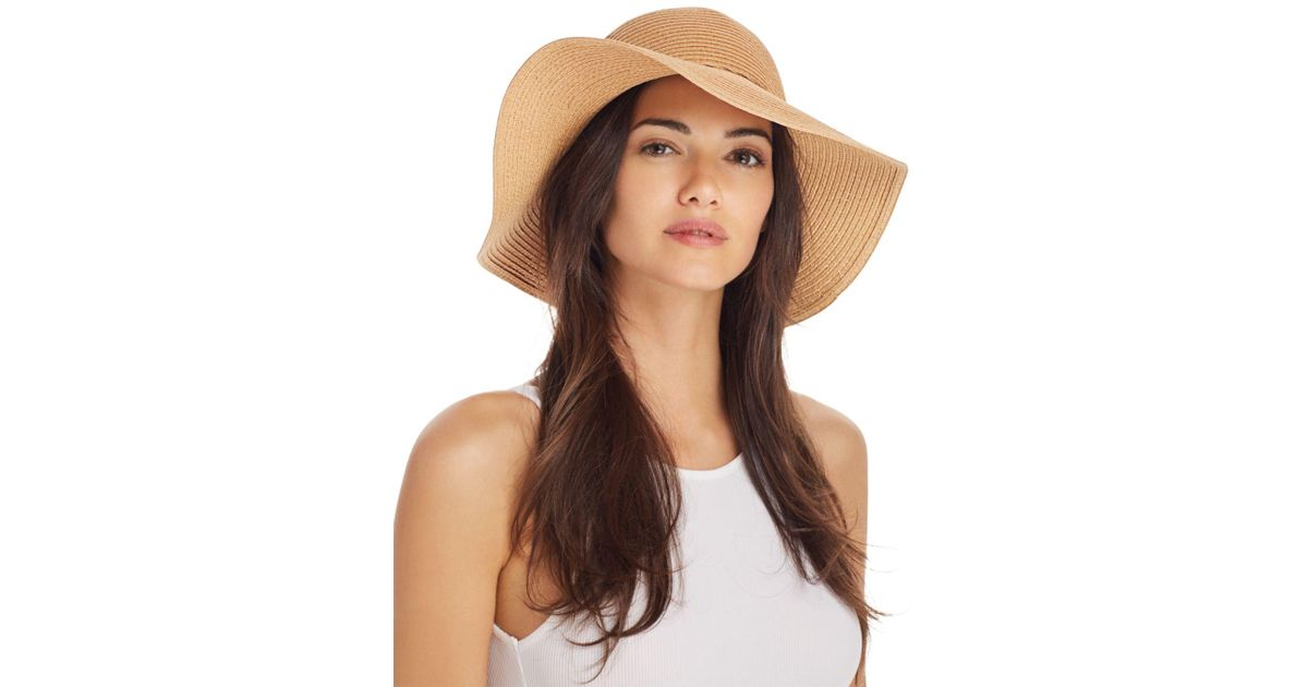 1dc1d751 August Hat Company Floppy Sun Hat in Natural - Lyst