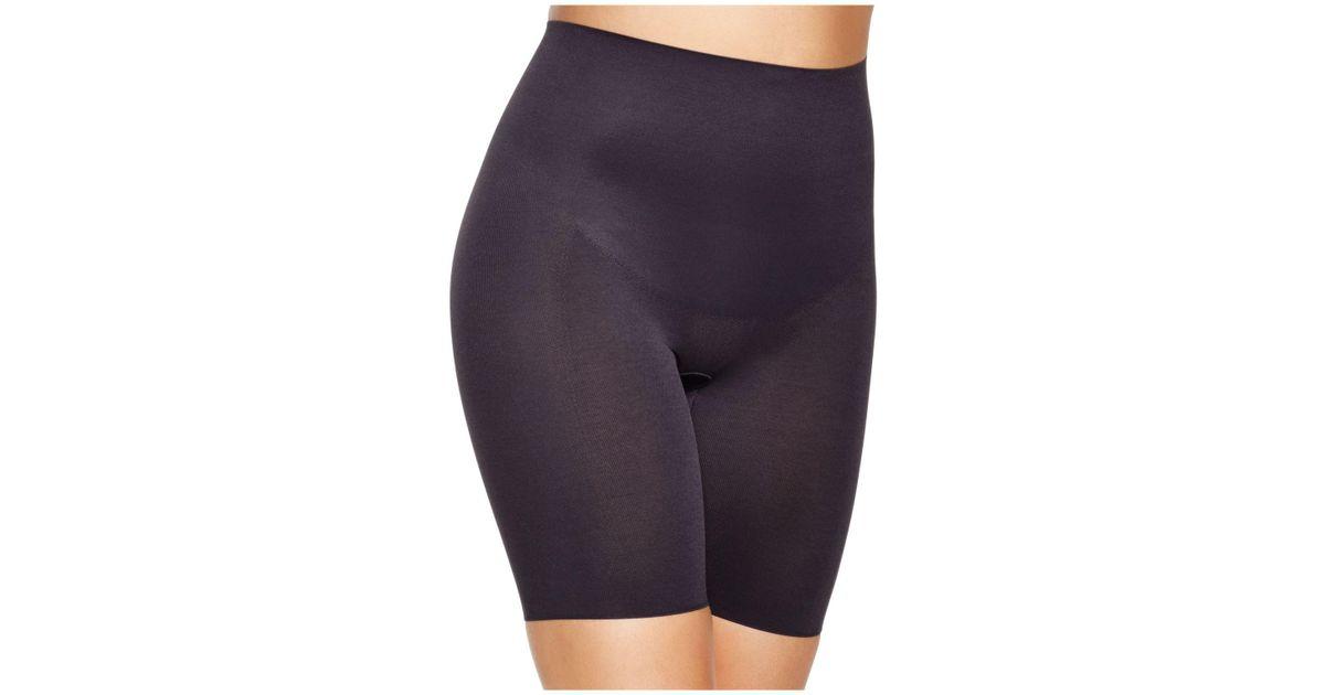 aa0d30f775 Lyst - Wacoal Zoned 4 Shape Long Leg Shaper Shorts in Black