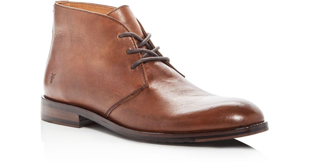 Frye Sam Leather Chukka Boots