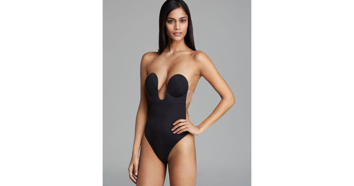 3c201284c Fashion Forms U Plunge Backless Strapless Bodysuit in Black - Save 72% -  Lyst