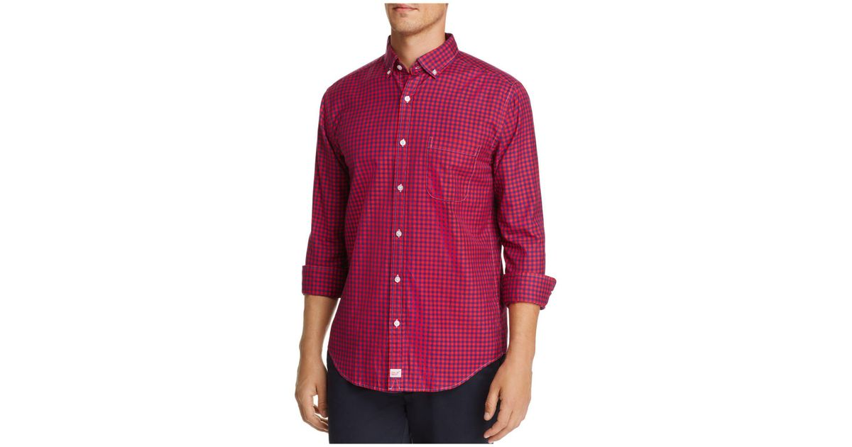 Vineyard Vines Bentley Gingham Classic Fit Button Down