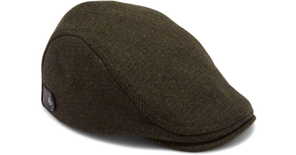 07cd2d204de5ab Ted Baker English Flat Cap for Men - Lyst