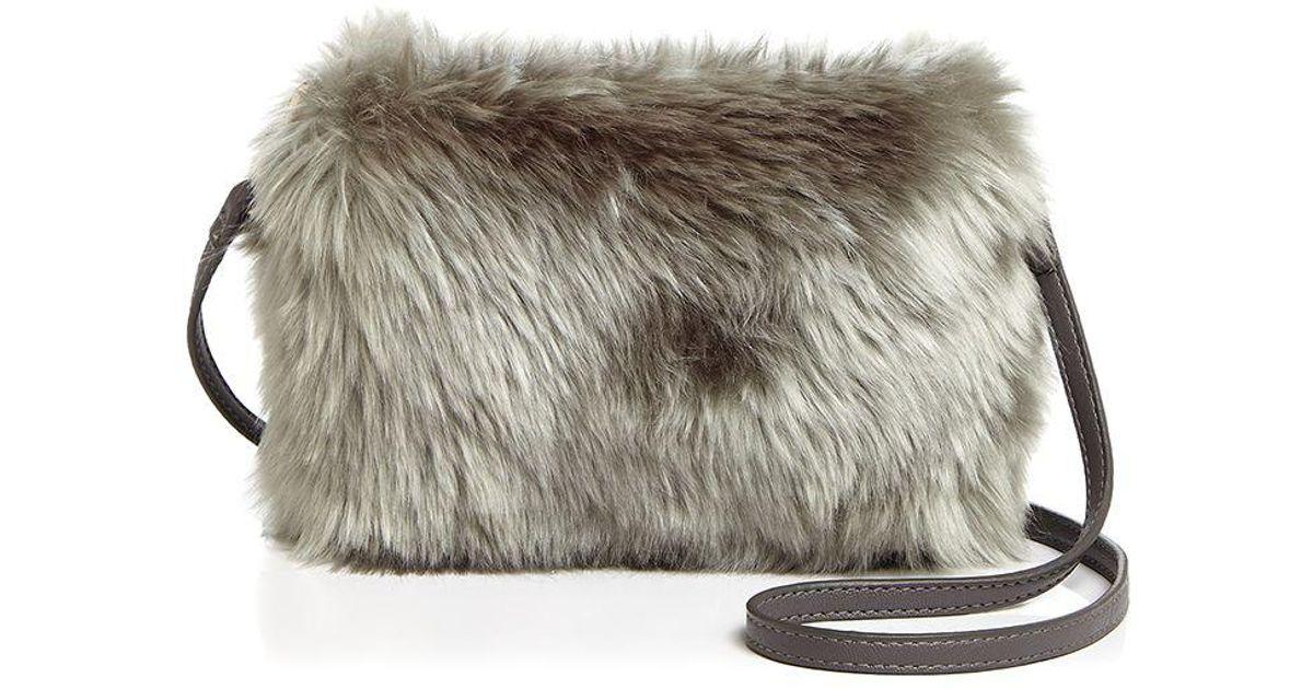 67cf8d47b5d Lyst - Remi   Reid Colette Faux-fur Crossbody