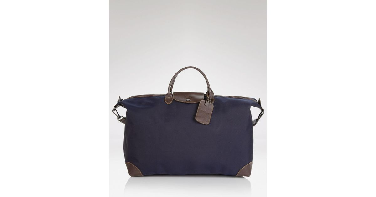 Lyst - Longchamp Boxford Extra Large Duffel Bag in Blue for Men 5a92a91b2c48d