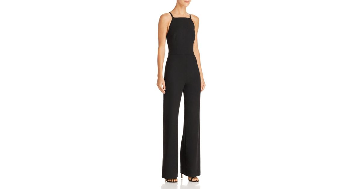 b800b024317 Lyst - French Connection Whisper Wide-leg Jumpsuit in Black