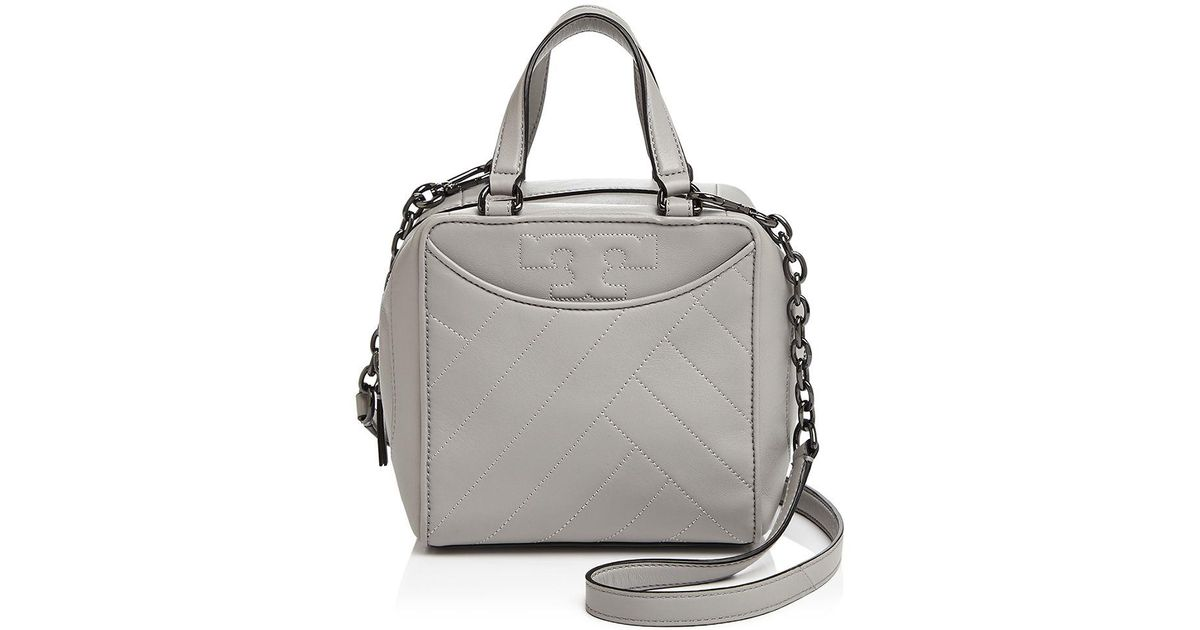 f7623b19390 ... switzerland lyst tory burch alexa mini leather satchel 42215 ca750  coupon for tory burch alexa convertible leather shoulder bag ...