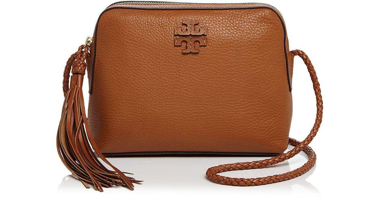 fd0f1b760ba Lyst - Tory Burch Taylor Leather Camera Bag