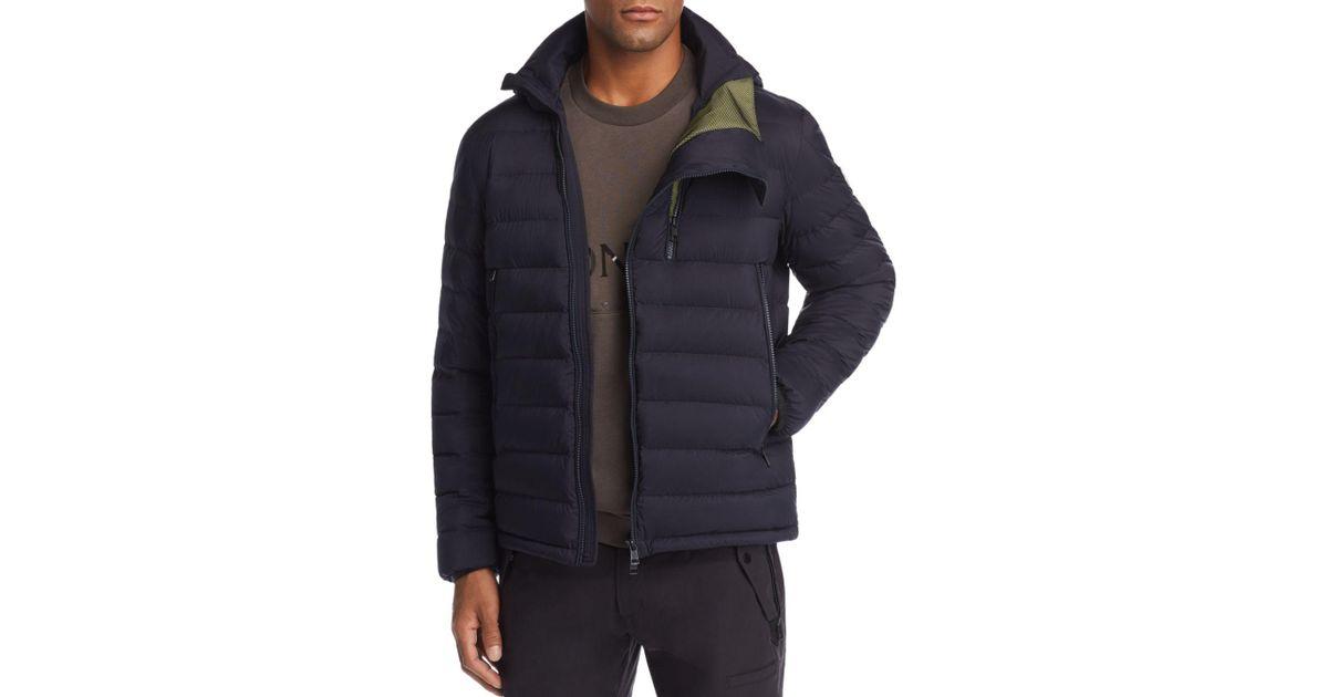 46a2e051b66d Lyst - Moncler Lorient Down Puffer Jacket in Blue for Men