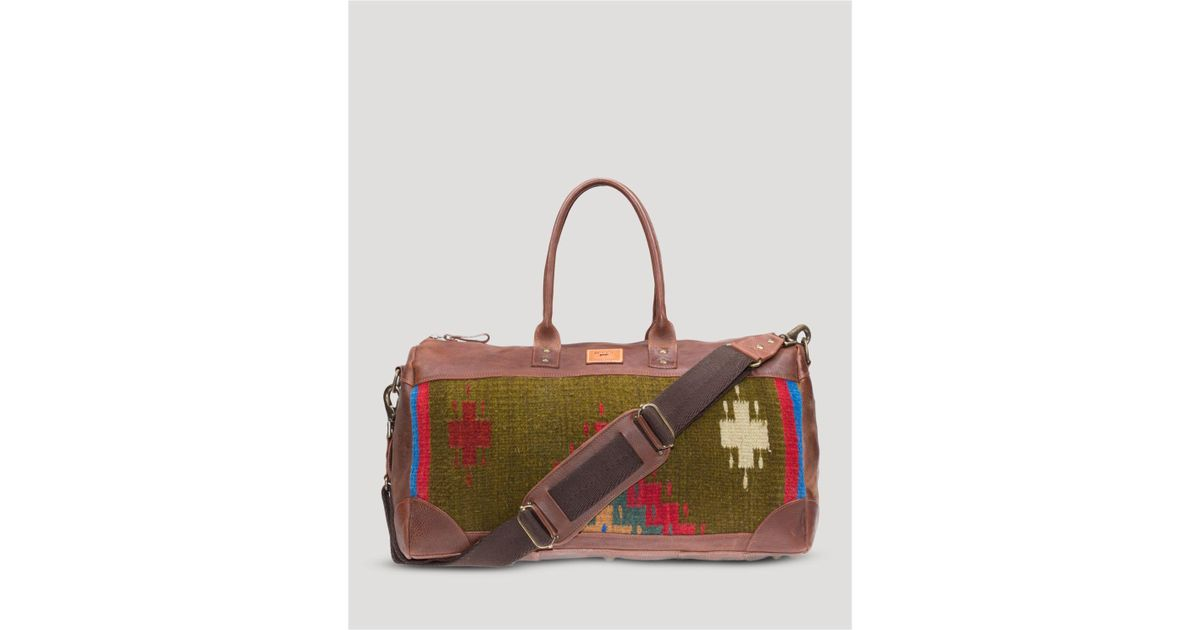 Will Leather Goods Oaxacan Duffel in Brown for Men - Lyst edc7bf841a