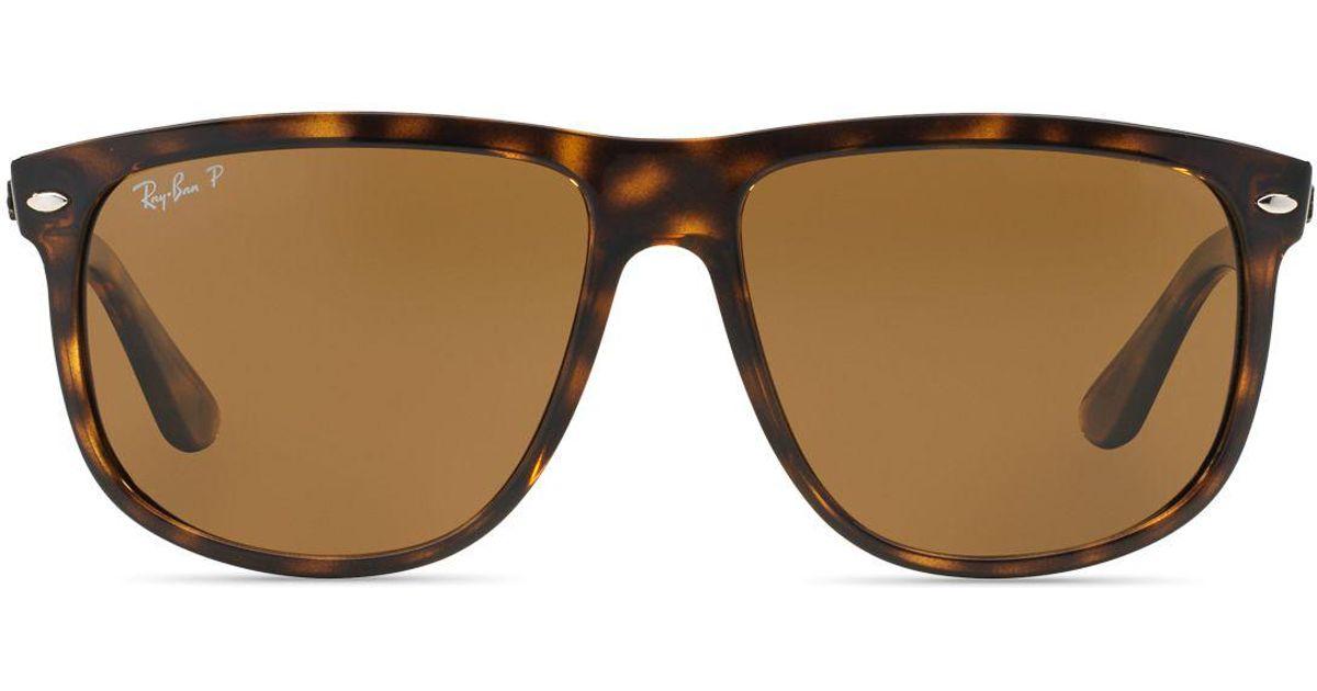 61af64d02b Ray Ban Boyfriend 60mm Flat Top Sunglasses