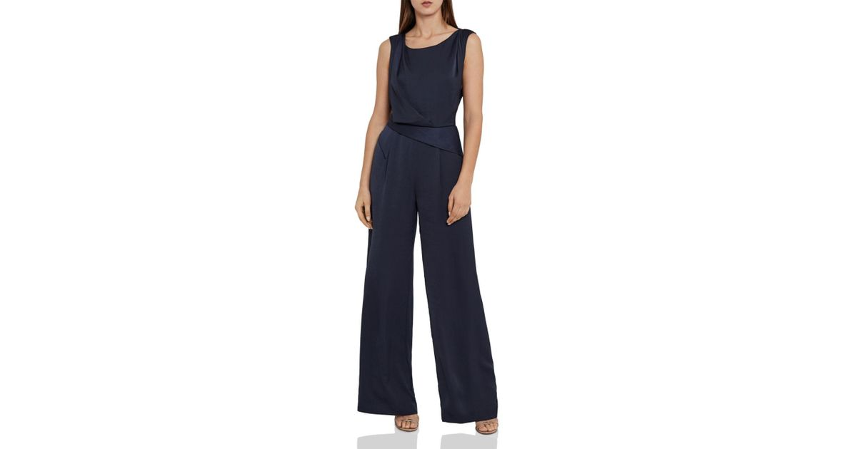 047a9e095e3 Lyst - Reiss Benita Strap-back Jumpsuit in Blue