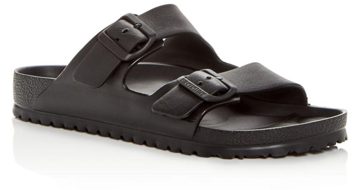 474664a3b4ff Lyst - Birkenstock Men s Arizona Eva Essential Slide Sandals in Black for  Men