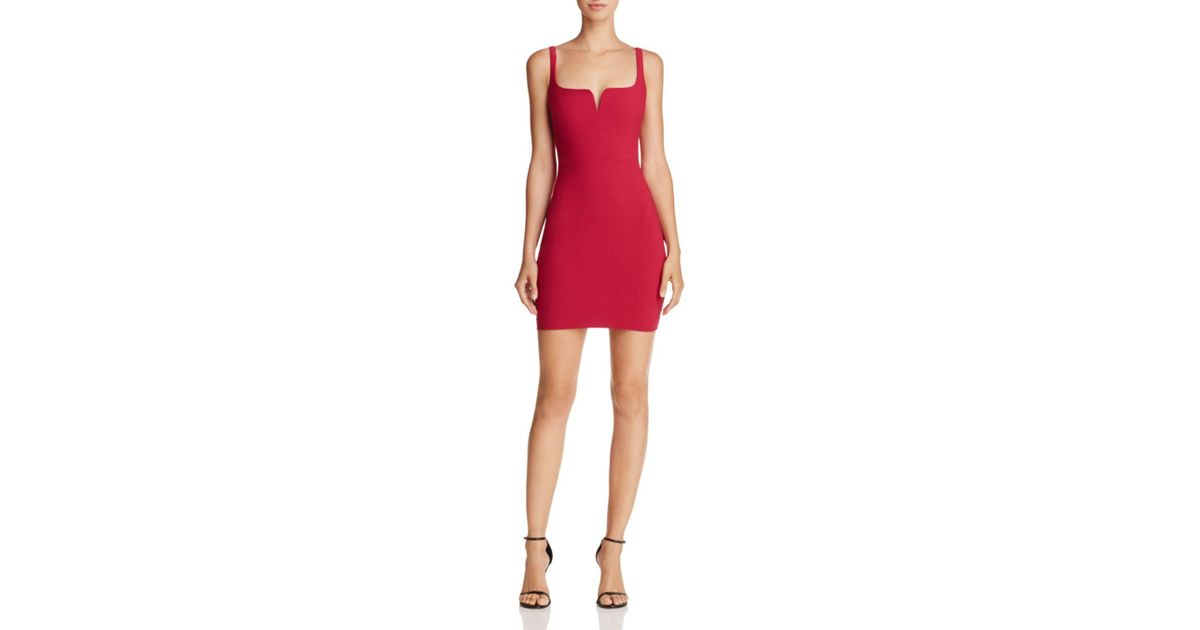 10fa53d9dbd Lyst - Likely Constance Body-con Dress in Red