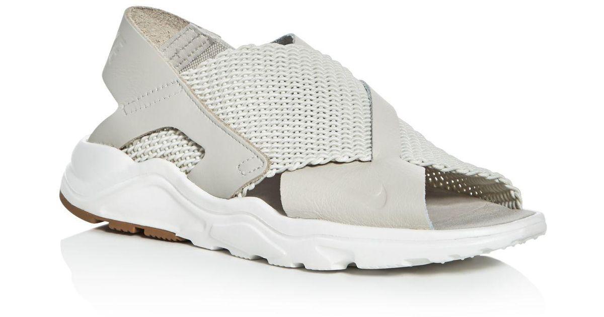 9e6203e564d Nike Women's Air Huarache Ultra Sandals - Lyst