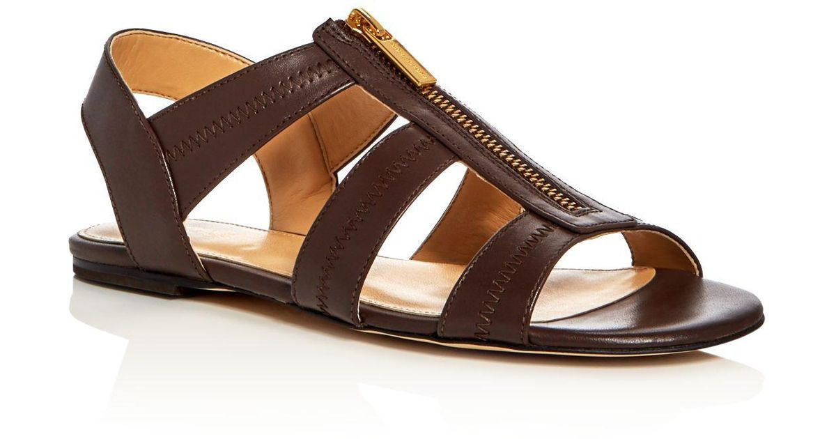 9cce43768fe86 Lyst - MICHAEL Michael Kors Berkley Caged Sandals in Brown