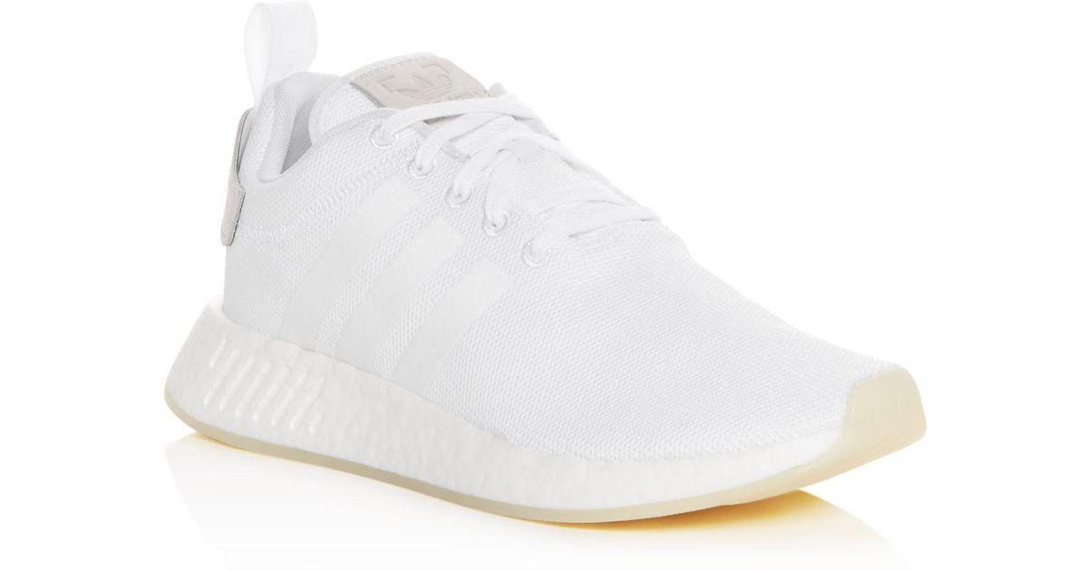 Lyst Adidas Uomini Nmd R2 Merletto Scarpe da Gli Ginnastica In Bianco Per Gli da Uomini. 0f5567
