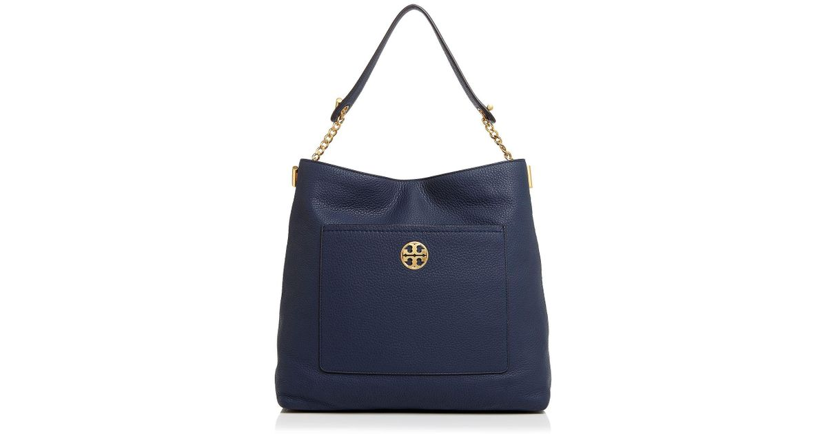 d81b49709af5 Lyst - Tory Burch Chelsea Chain Hobo