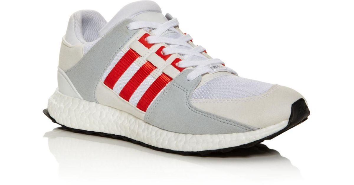 the latest 966bc b97fd Adidas - White Men's Eqt Support Ultra Boost Sneakers for Men - Lyst