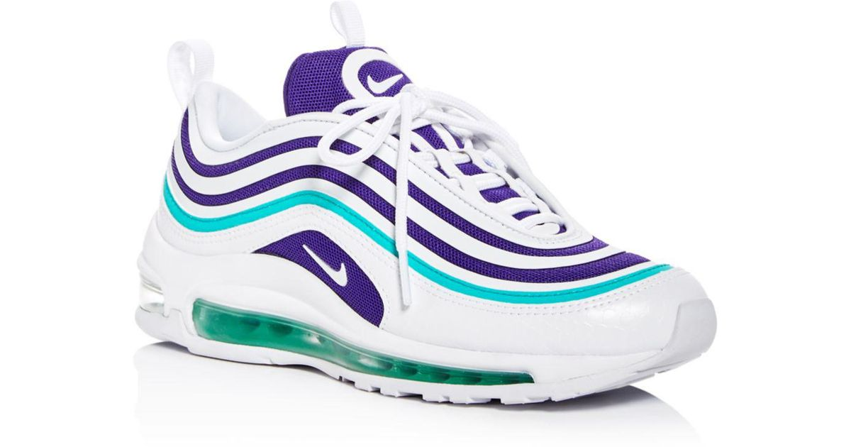 080cce74be09ec Nike - White Women s Air Max 97 Ultra  17 Se Lace Up Sneakers - Lyst