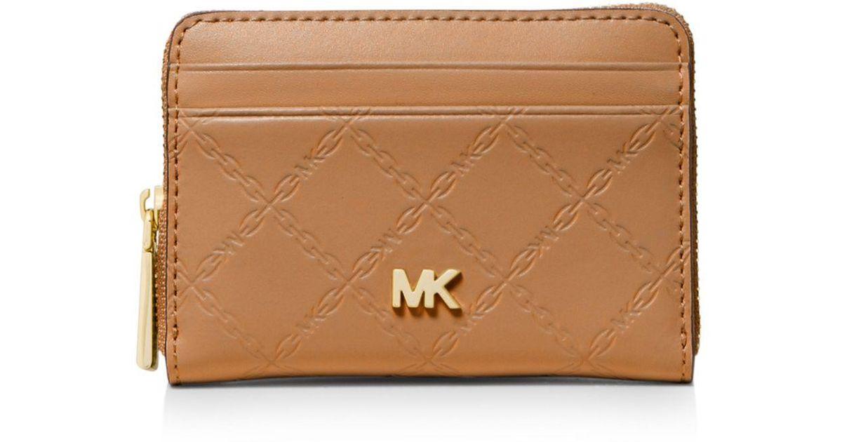 22da6e35a126 MICHAEL Michael Kors Zip-around Coin & Card Case - Lyst