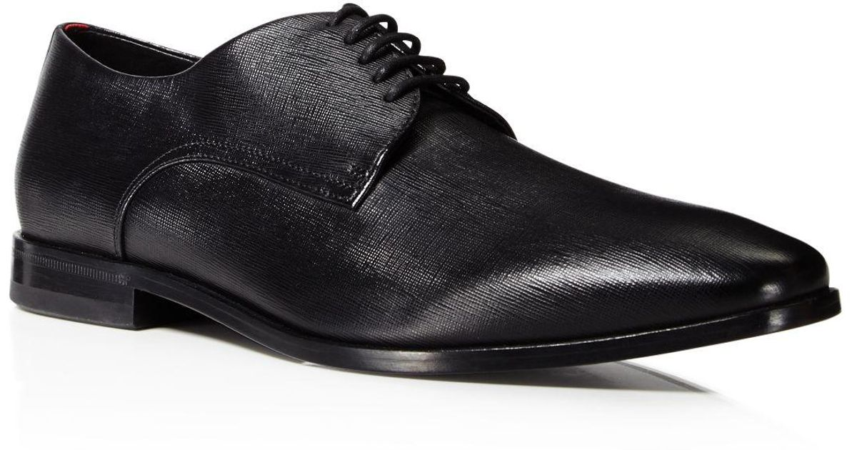 HUGO BOSS Men's Highline Emed Derby Plain Toe Oxfords - 100% Exclusive SQE754