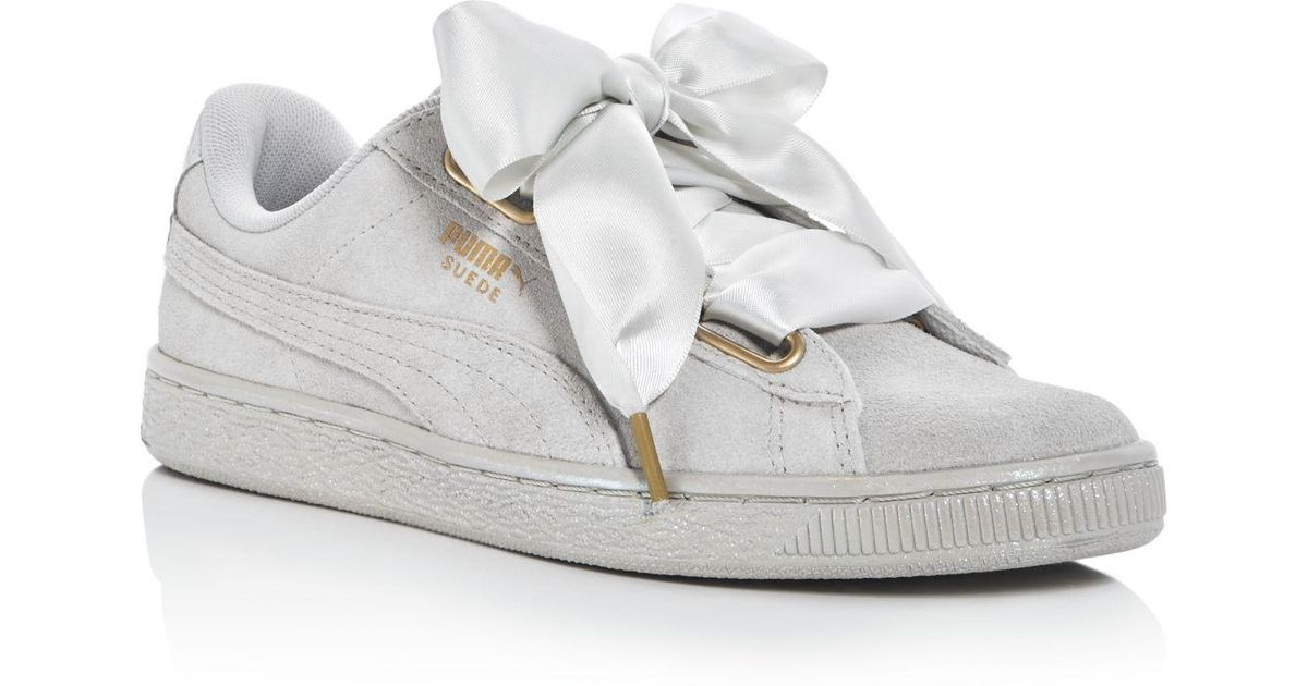 ForOffice | puma sneakers with bow